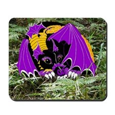 Dreamscape the Space Dragon Mousepad