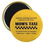 Mom's Taxi Magnet