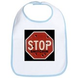 Cute Snitchin Bib
