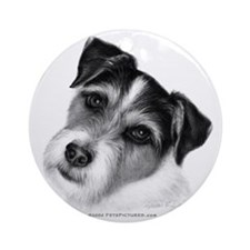 Jack (Parson) Russell Terrier Ornament (Round)