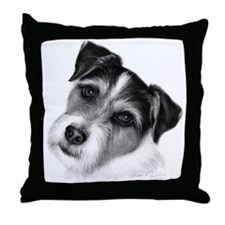 Jack (Parson) Russell Terrier Throw Pillow
