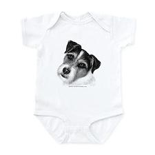 Jack (Parson) Russell Terrier Infant Bodysuit