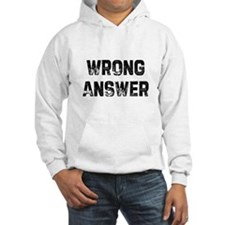 Wrong Answer Hoodie