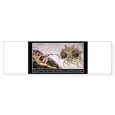 Touched Rectangle Bumper Sticker Bumper Bumper Sticker