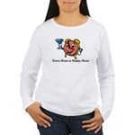 Every Hour is Happy Hour Women's Long Sleeve T-Shi