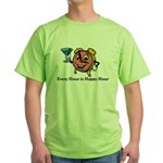 Every Hour is Happy Hour Green T-Shirt