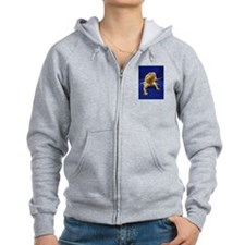 Bearded Dragon Zip Hoodie