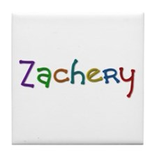 Zachery Play Clay Tile Coaster