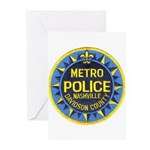 Nashville Police Greeting Cards (Pk of 10)