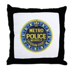 Nashville Police Throw Pillow