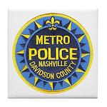 Nashville Police Tile Coaster
