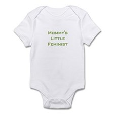 Mommy's Little Feminist Infant Bodysuit