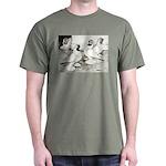 Moorhead Tumbler Pigeons Dark T-Shirt