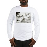 Moorhead Tumbler Pigeons Long Sleeve T-Shirt