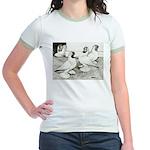 Moorhead Tumbler Pigeons Jr. Ringer T-Shirt
