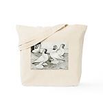 Moorhead Tumbler Pigeons Tote Bag