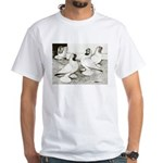 Moorhead Tumbler Pigeons White T-Shirt