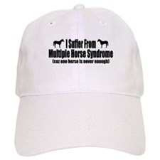 Multiple Horse Syndrome Baseball Cap