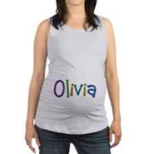 Olivia Play Clay Maternity Tank Top