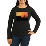 Yelverton Women's Long Sleeve Dark T-Shirt