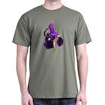Bearded Iris Dark T-Shirt