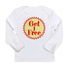 GET 1 FREE Long Sleeve T-Shirt