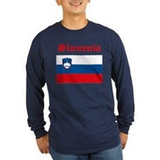 slovenia22 Long Sleeve T-Shirt