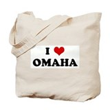 I Love OMAHA Tote Bag