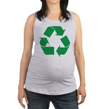recycle_g.png Maternity Tank Top