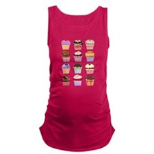 Dozen of Cupcakes Maternity Tank Top