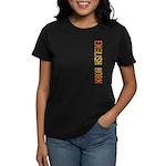 English Horn Stamp Women's Dark T-Shirt