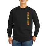 English Horn Stamp Long Sleeve Dark T-Shirt