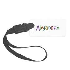 Alejandro Play Clay Luggage Tag
