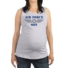 Air Force Son Maternity Tank Top