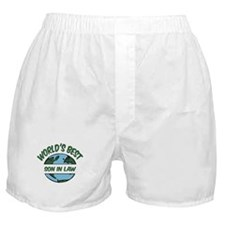World's Best Son In Law Boxer Shorts