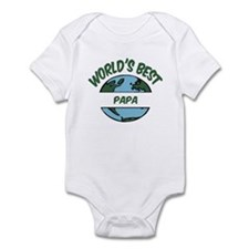 World's Best Papa Infant Bodysuit