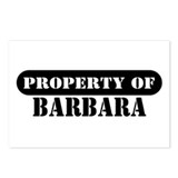 Property of Barbara Postcards (Package of 8)