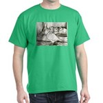 Texan Pioneer Pigeons Dark T-Shirt