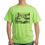 Texan Pioneer Pigeons Green T-Shirt