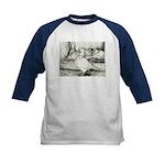 Texan Pioneer Pigeons Kids Baseball Jersey