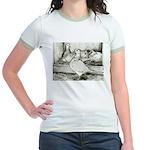Texan Pioneer Pigeons Jr. Ringer T-Shirt