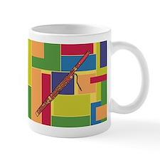 Bassoon Colorblocks Small Mug