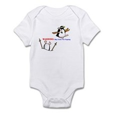 Unique Happy feet Infant Bodysuit