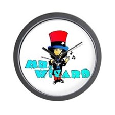 Mr. Wizard Wall Clock