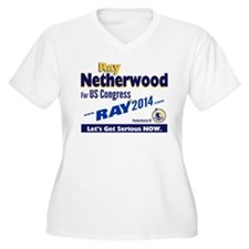 Ray Netherwood Plus Size T-Shirt
