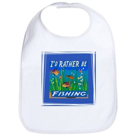 Rather be Fishing Bib