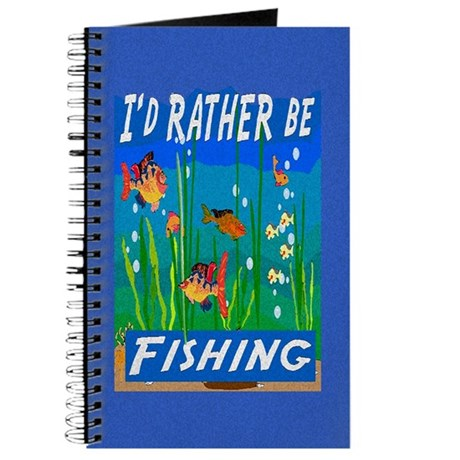 Rather be Fishing Journal