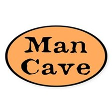 Man Cave Custom Decal