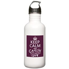 Keep Calm and Cite Your Sources Sports Water Bottl