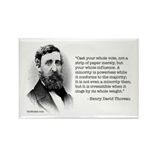 Thoreau on Voting and Power Magnet